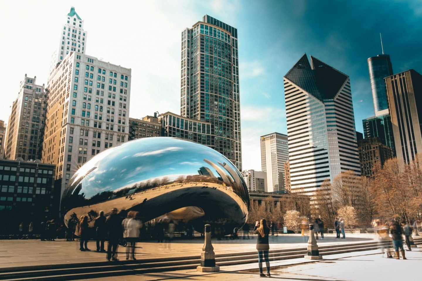 Famous Landmarks Quiz Questions and Answers - Cloud Gate