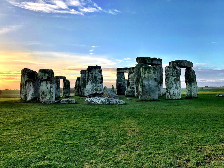 famous landmark in england - Stonehenge