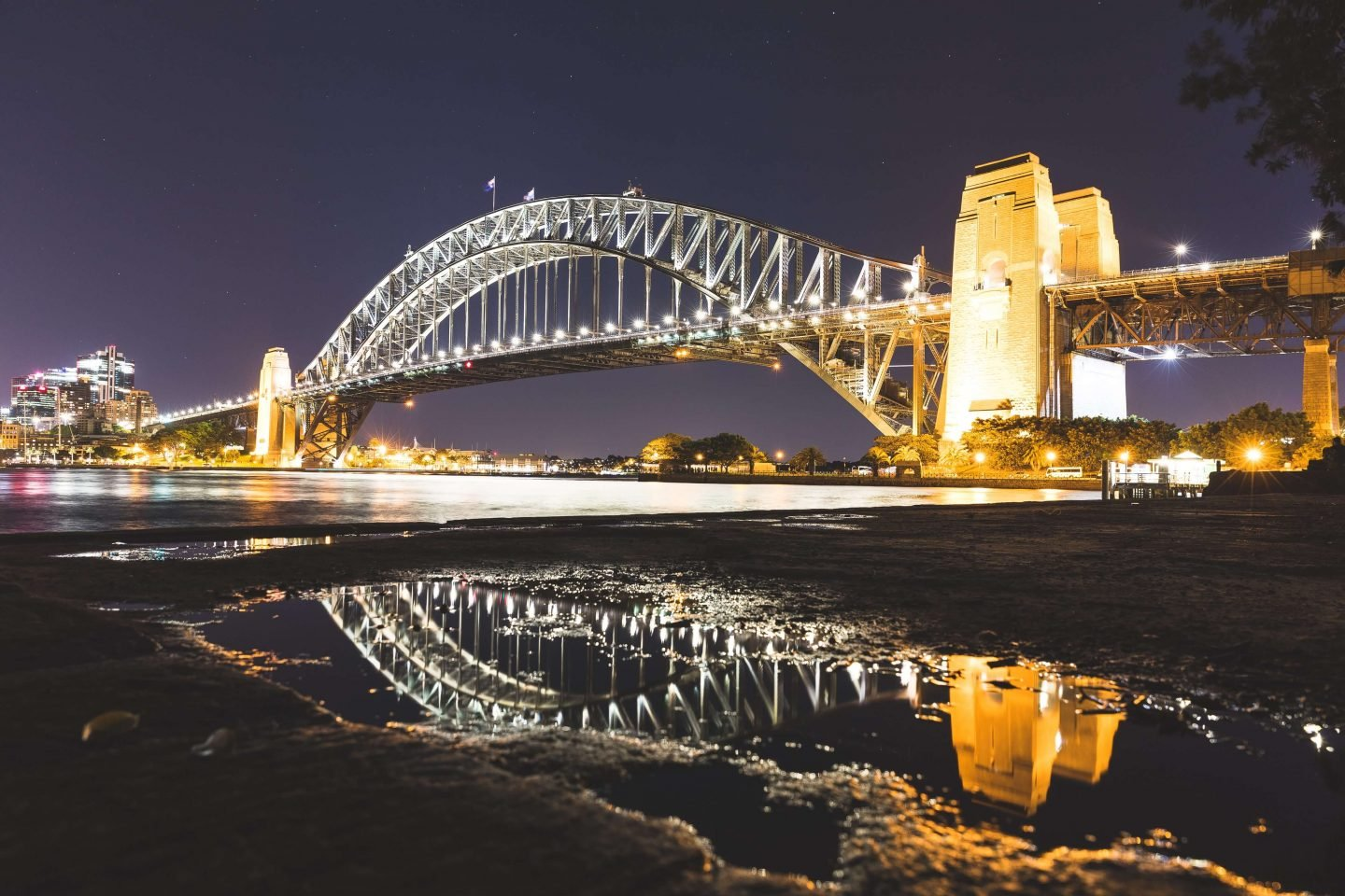 famous landmarks from around the world - Sydney Harbour Bridge