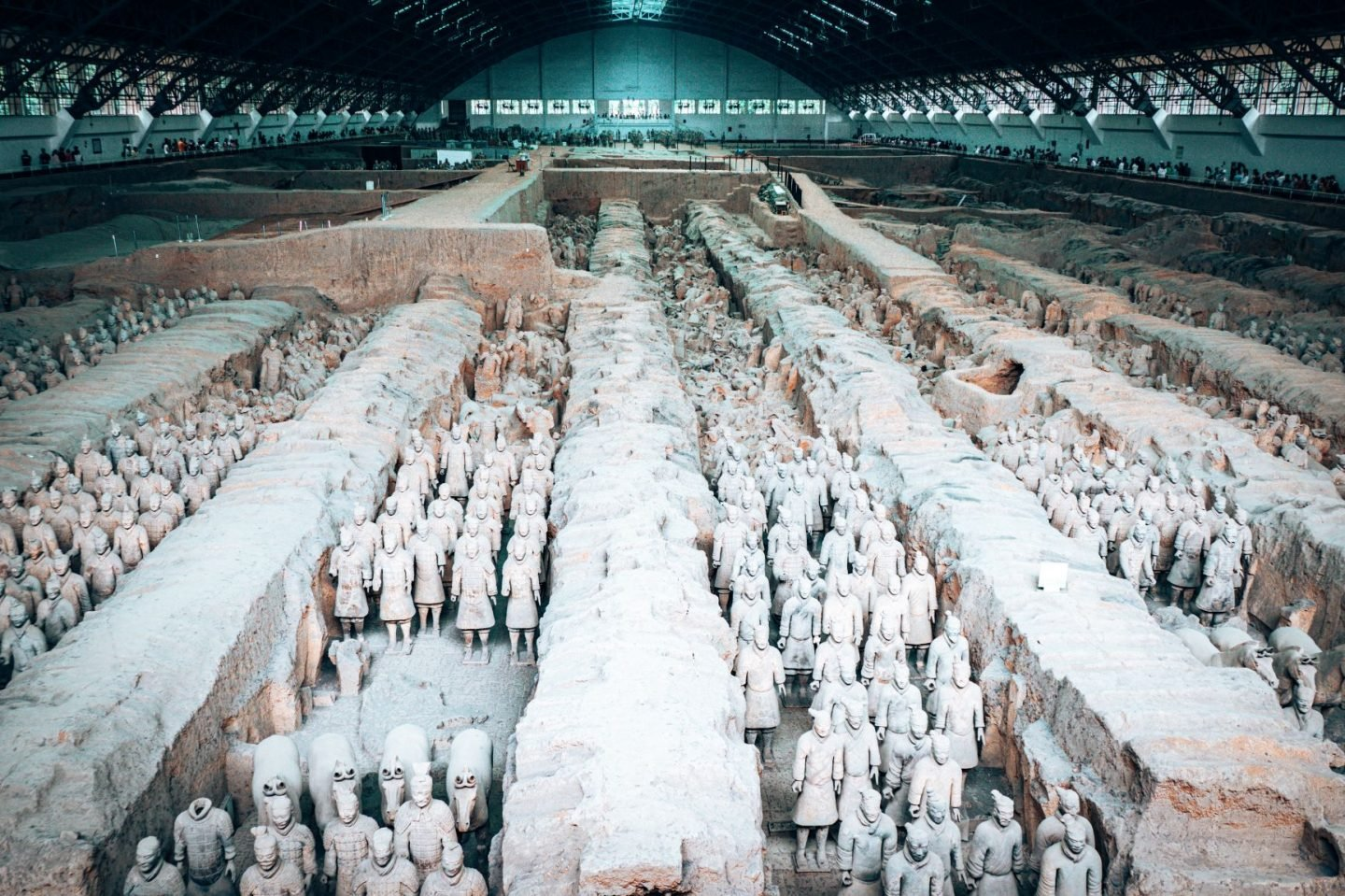 Names of famous landmarks - Terracotta Army