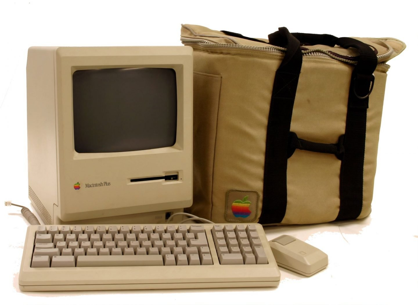 Science trivia questions for adults - old school apple mac