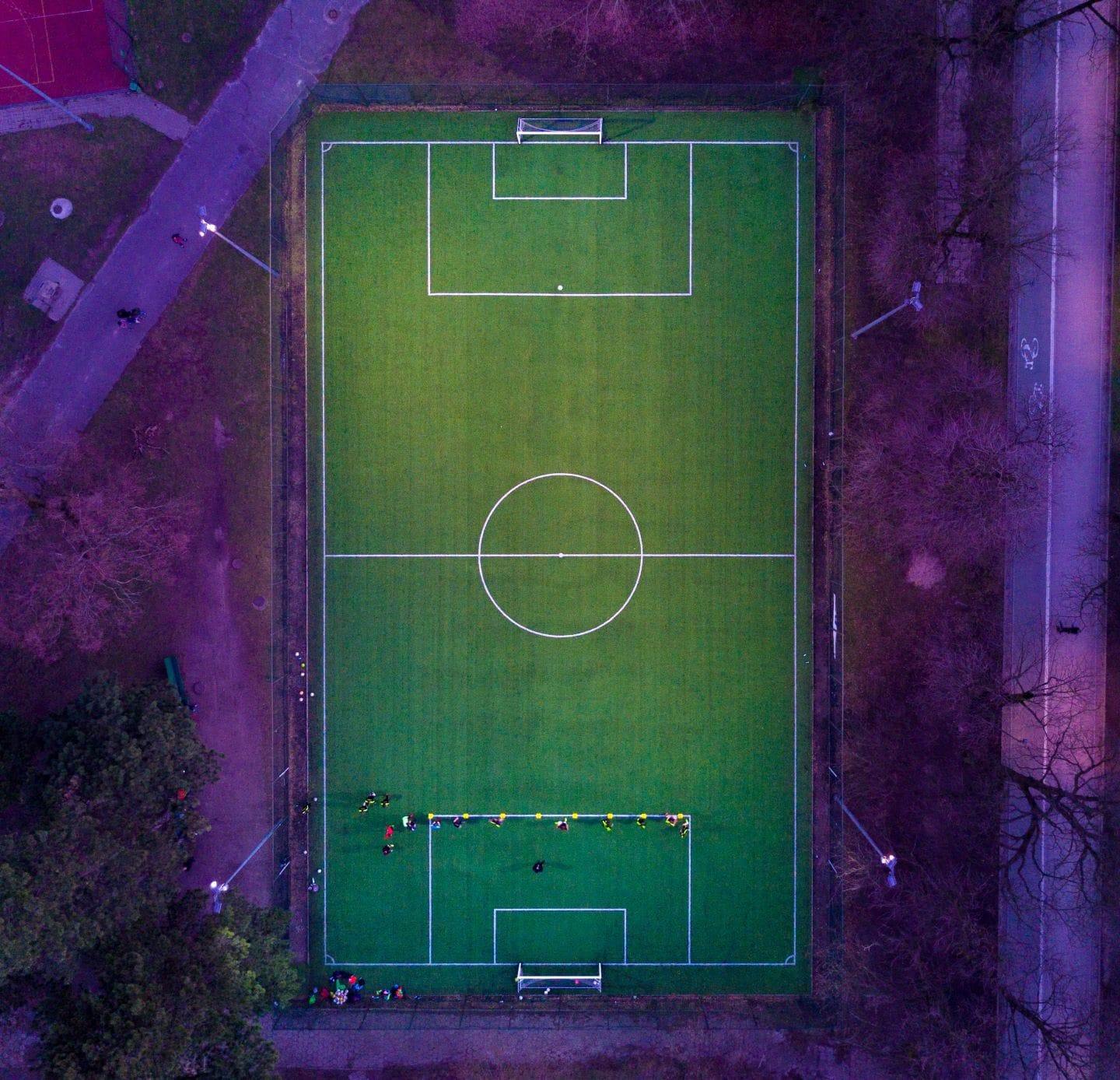 World Soccer Trivia Questions and Answers - Stadium from above