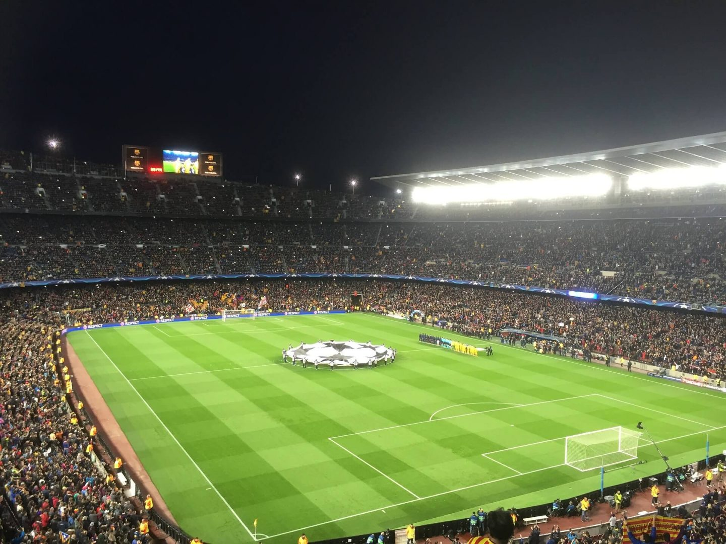 Nothing like Champions League football