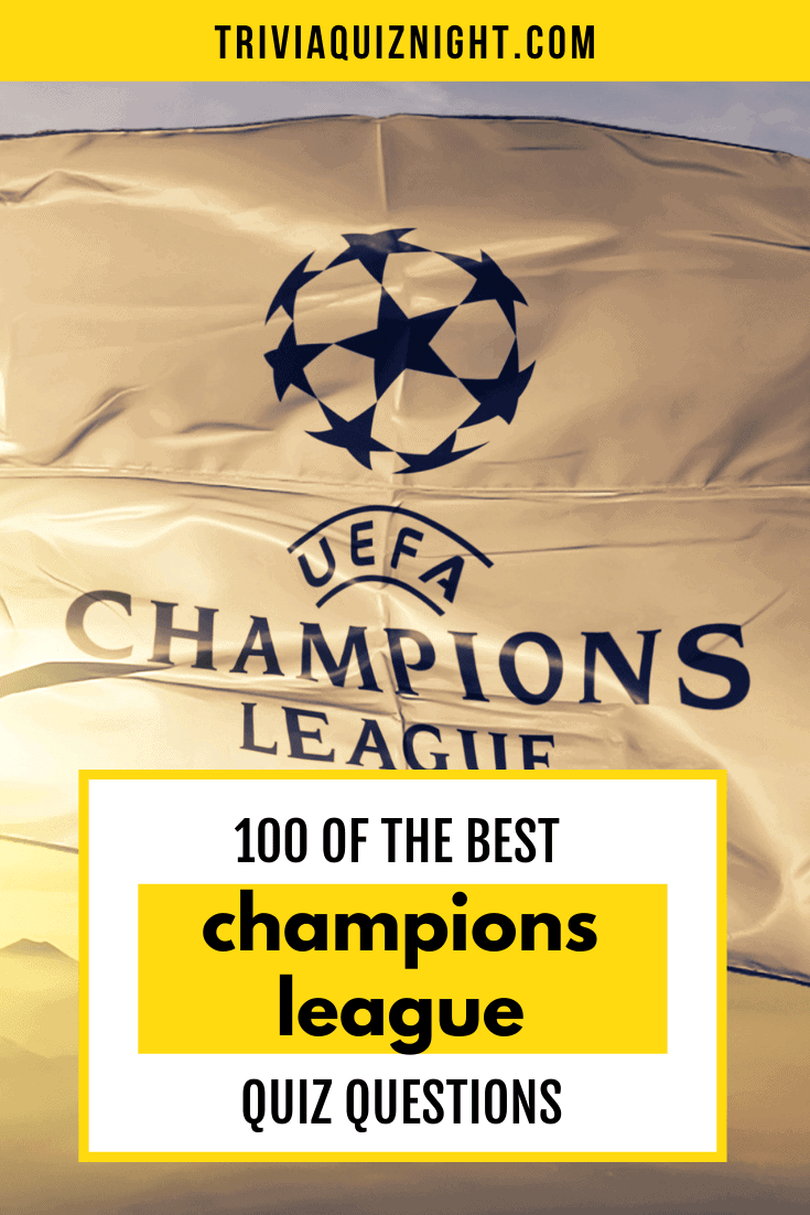 Here is the ultimate Champions League quiz - think you know a bit about the premier club competition? Then test out your knowledge with this epic football quiz