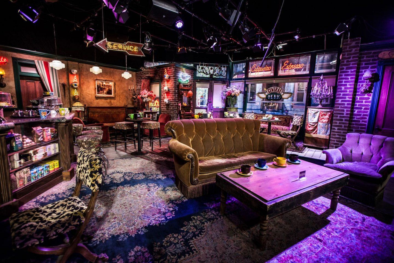 Friends tv trivia questions - an empty Central Perk