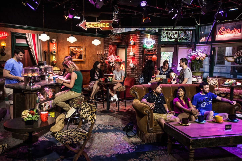 Friends tv show trivia - inside Central Perk