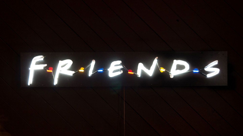 Top Friends quiz - Friends TV show logo