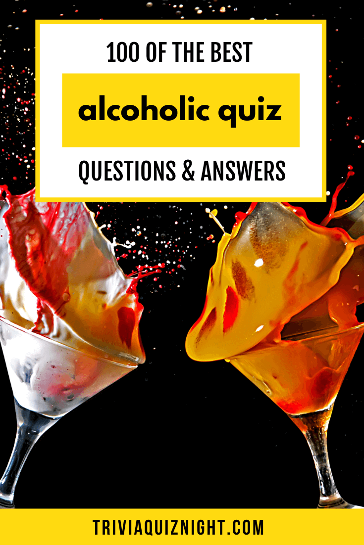 All the best alcohol quiz questions and answers for your epic pub quiz night or trivia rundown