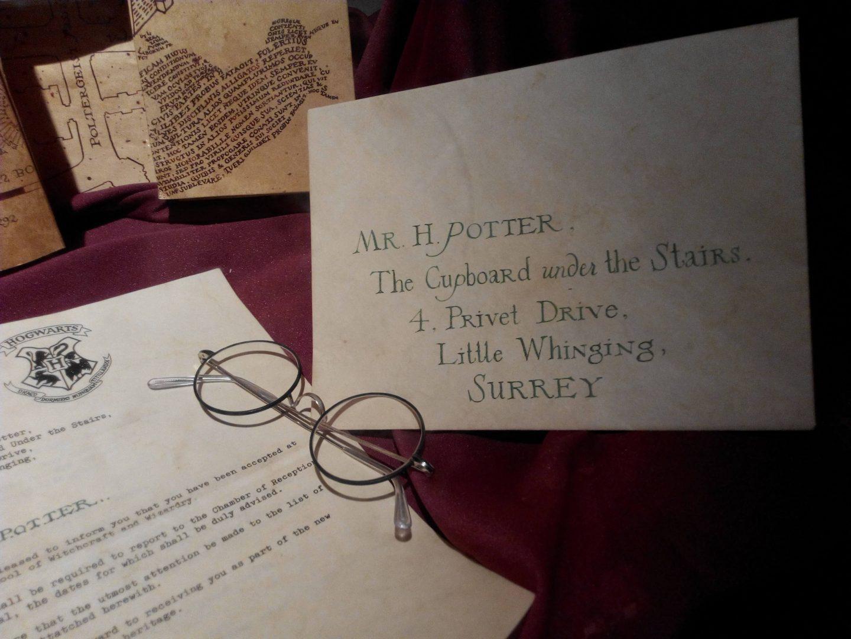 Random Harry Potter trivia - 4 Privet Drive letter