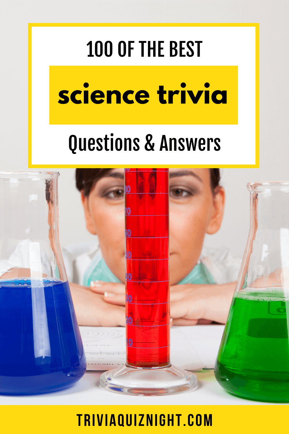 All the best science trivia questions and answers for your quiz night
