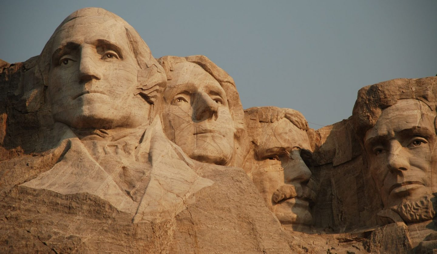 US politics quiz questions and answers - Mount Rushmore
