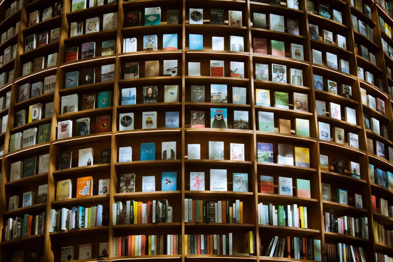 Book title quiz questions - book shelving