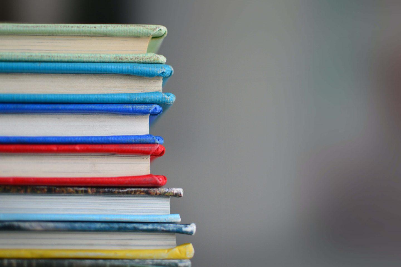 Books quiz pub questions - stack of books